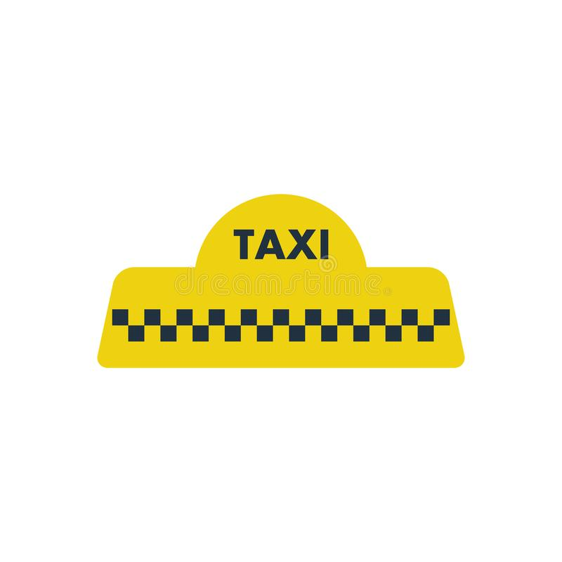 Taxi roof icon royalty free illustration