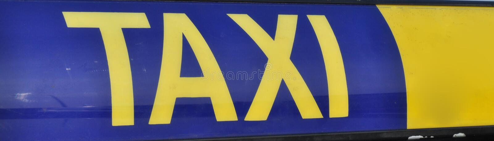 Download Taxi roofsign stock image. Image of taxidriver, journey - 14658957