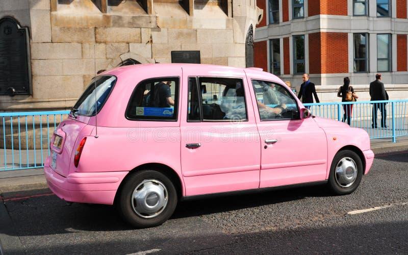 Taxi rose photo libre de droits