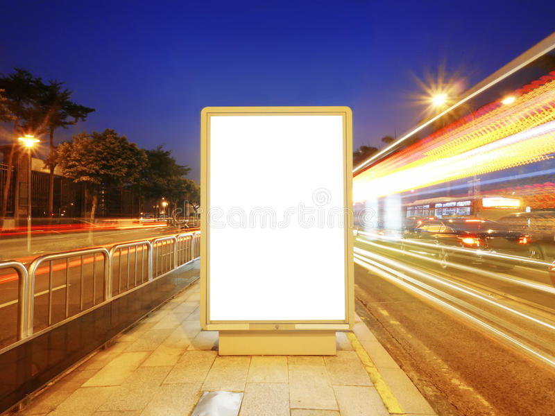 Download Taxi stand in sidewalk stock photo. Image of advertise - 21494674