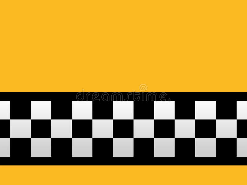 Download Taxi stripes stock image. Image of symbol, yellow, stripes - 24785079