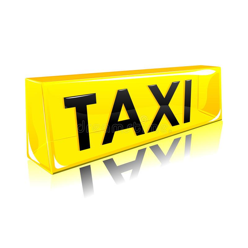 Taxi Symbol vector illustration