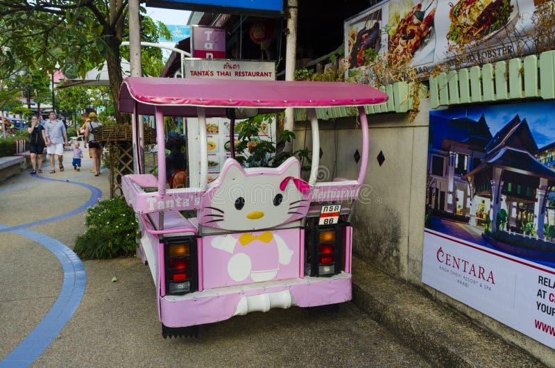 Download Taxi Tailandese Tradizionale Di Stile. Fotografia Editoriale - Immagine di verde, nave: 30828756