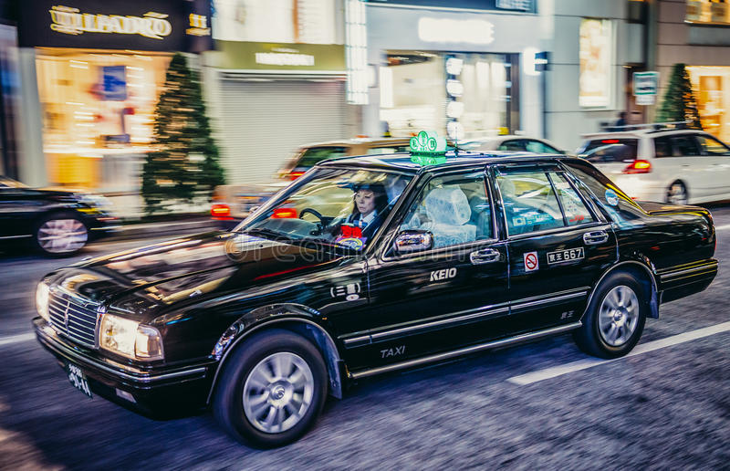 taxi Tokyo obraz stock
