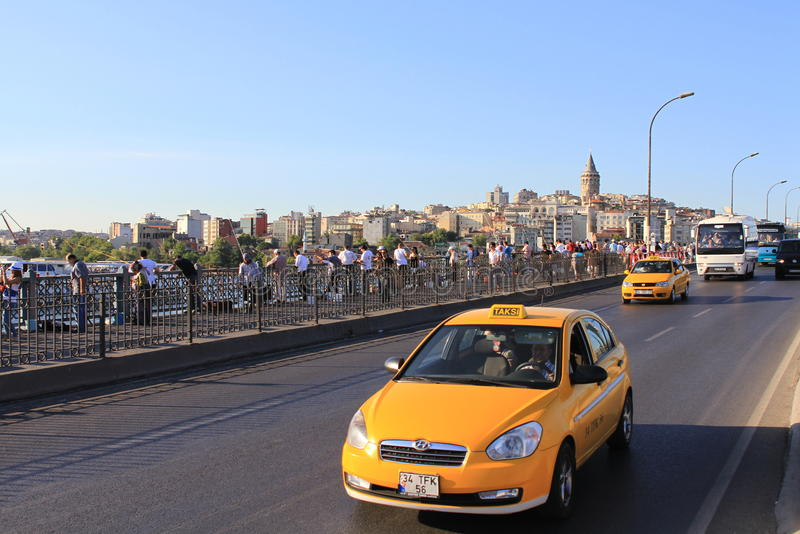 Download Taxi traffic editorial image. Image of motion, commute - 26012260