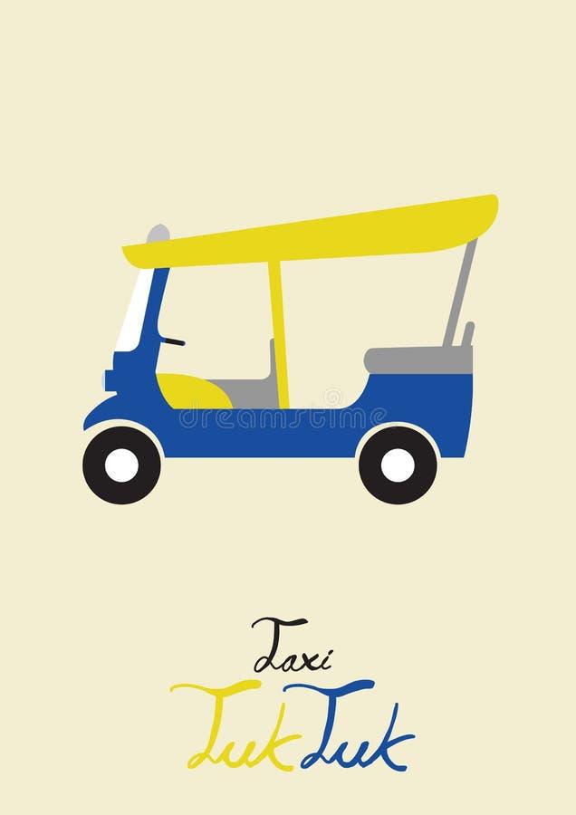 Download Taxi tuk tuk stock vector. Illustration of design, culture - 37281581