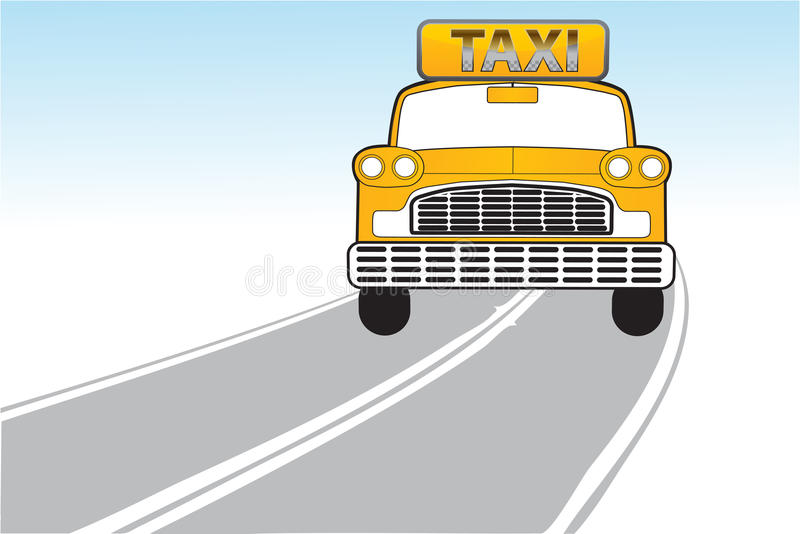 Download Taxi on the way stock photo. Image of inscription, ride - 17548110