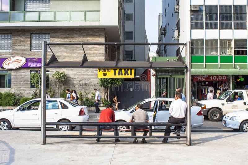 Taxichaufförer arkivfoton