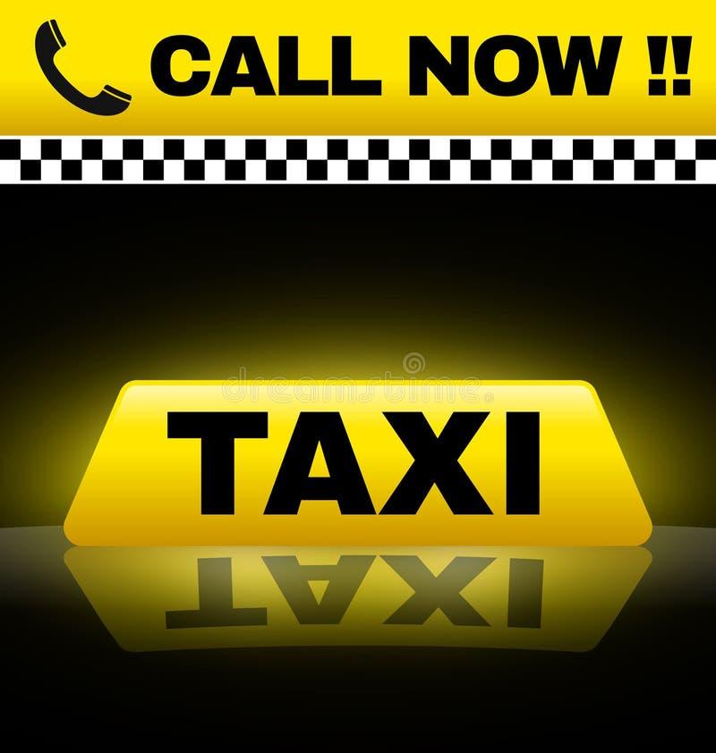 Taxidesign vektor illustrationer