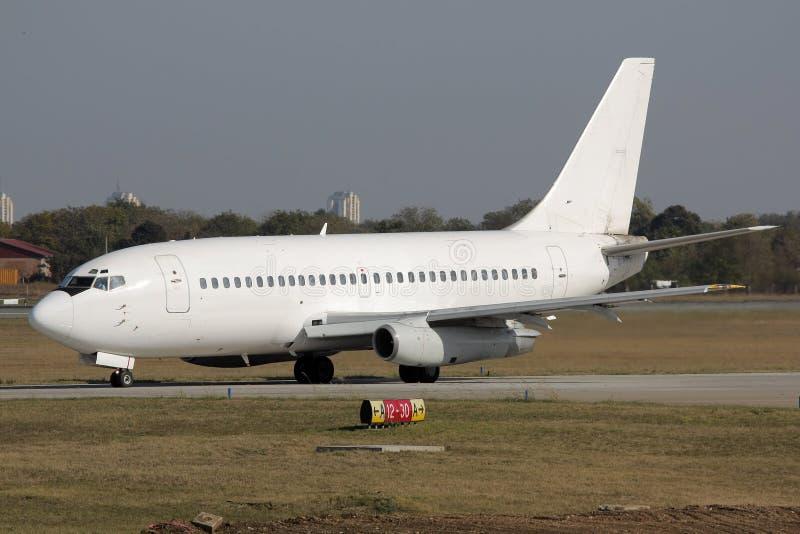 taxiing för stråle för flygplan klassisk royaltyfria foton