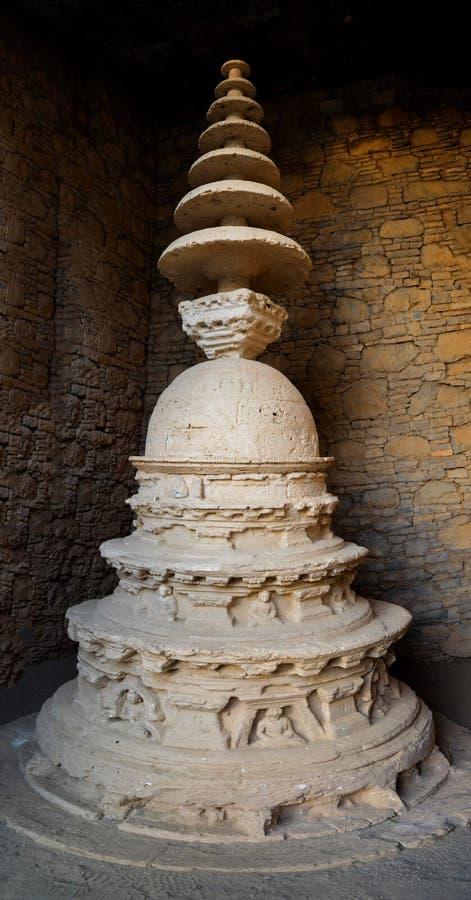 Taxila arruina Stupa fotografia de stock