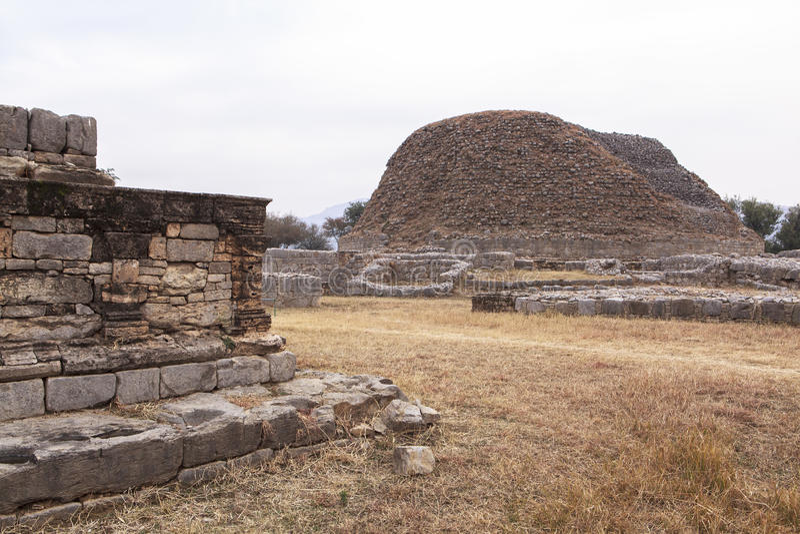Taxila dziedzictwo w Pakistan obraz royalty free