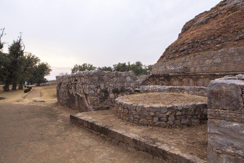 Taxila dziedzictwo w Pakistan zdjęcie royalty free