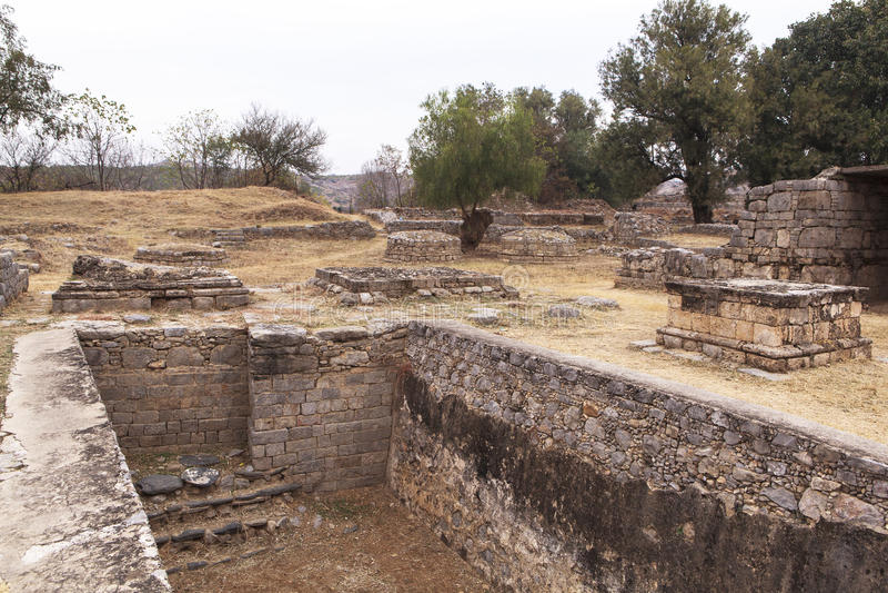 Taxila-Erbe in Pakistan lizenzfreies stockbild