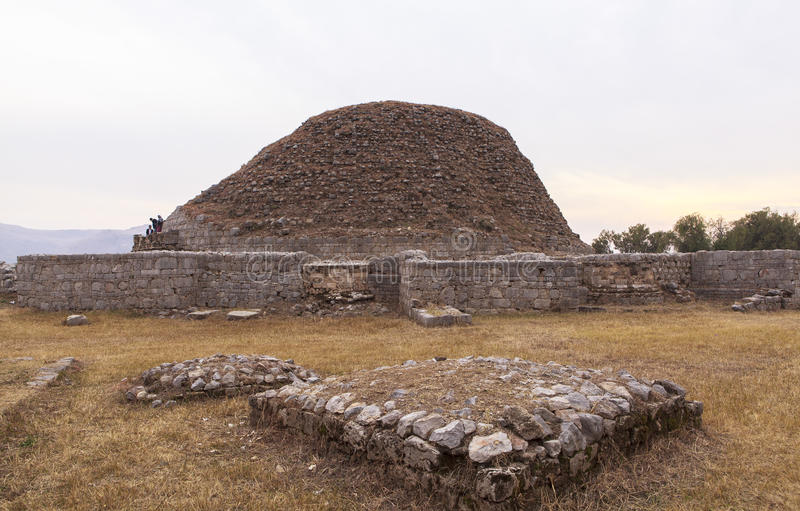 Taxila Heritage in Pakistan royalty free stock photography