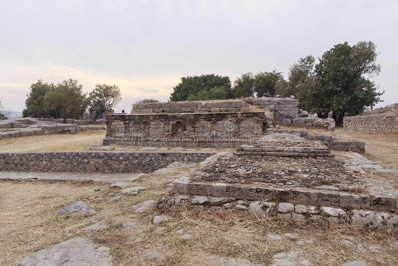 Taxila Heritage in Pakistan stock image