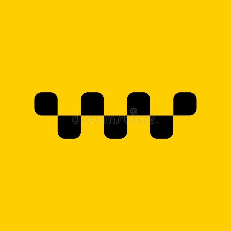 Taxilogospott oben Ihren Text addieren vektor abbildung