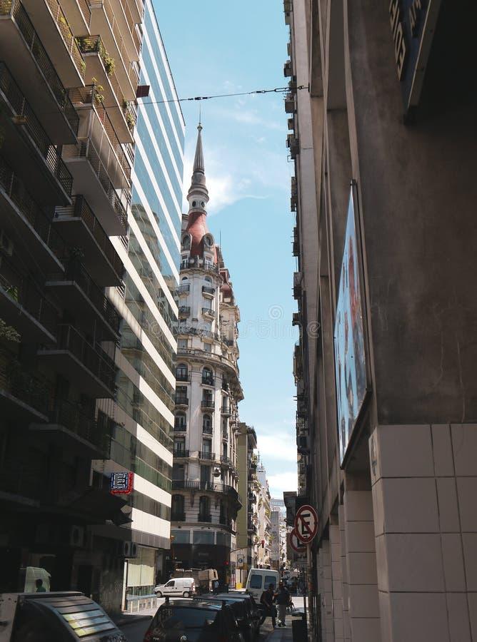 Taximonument i Buenos Aires fotografering för bildbyråer