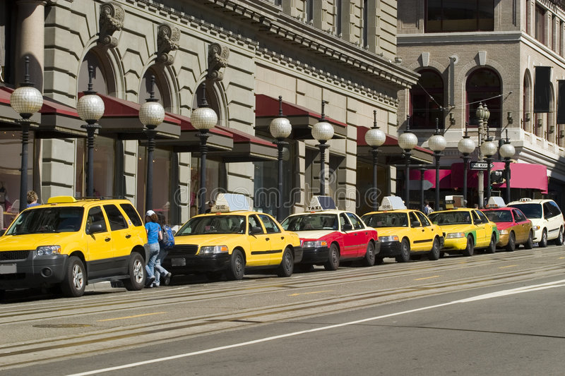 Taxis stock photos