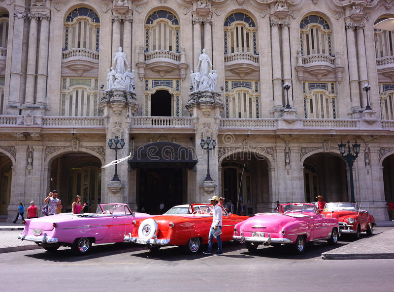 Taxis classiques image stock