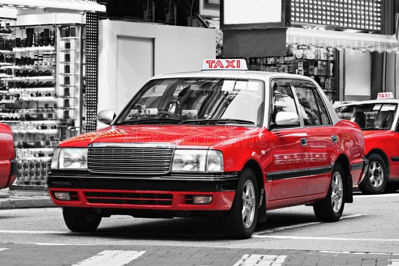 Taxis, Hong Kong photographie stock libre de droits