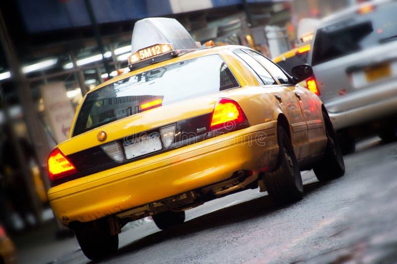 Taxis in New York royalty-vrije stock afbeeldingen