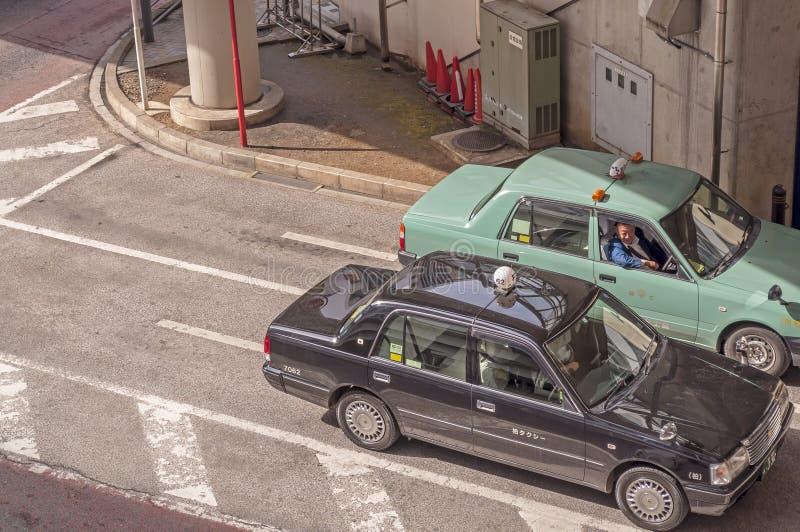 Taxista que conversa-se imagem de stock royalty free