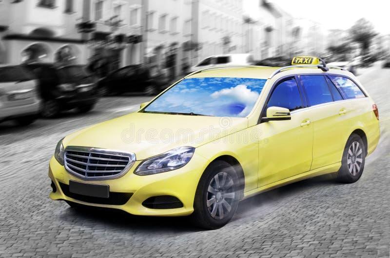 Taxitaxi arkivbild