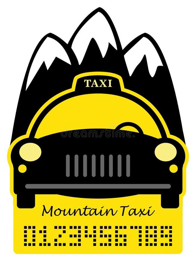 Taxizusammenfassung lizenzfreie abbildung