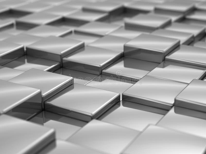 taxture кубиков серебряное стоковые фотографии rf