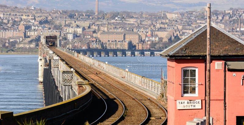 Tay Rail Bridge royalty-vrije stock foto's