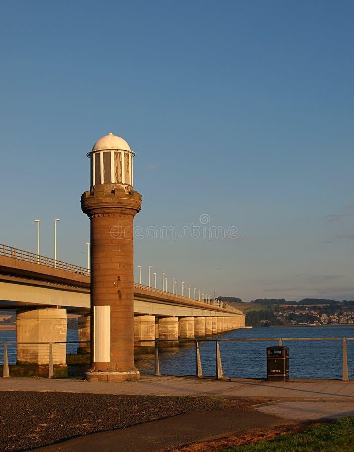 Tay Road Bridge fotografia stock libera da diritti