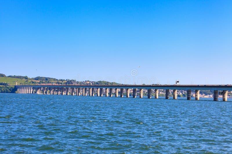 Tay Road Bridge, Dundee, Schotland royalty-vrije stock fotografie