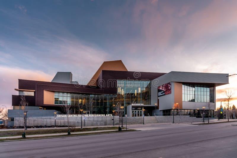 Taylor Center for the Performing Arts, Universidade do Monte Real imagens de stock