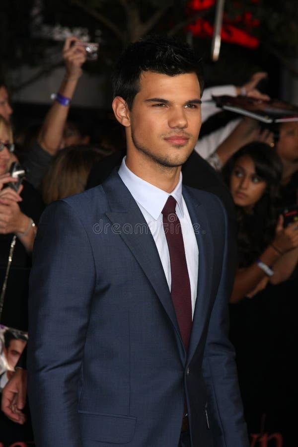 Taylor Lautner fotos de archivo libres de regalías
