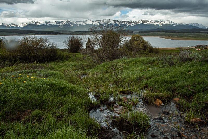 Taylor Reservoir stockfotografie