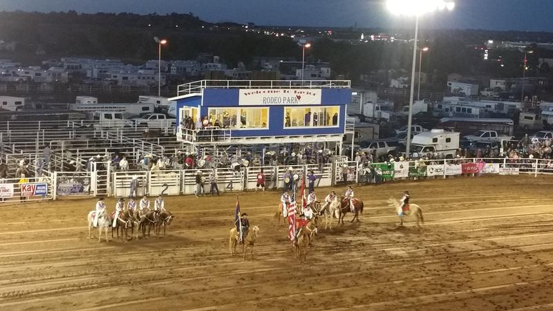 4. Taylors AZ 2016 der Juli-Rodeoflagge stockbilder