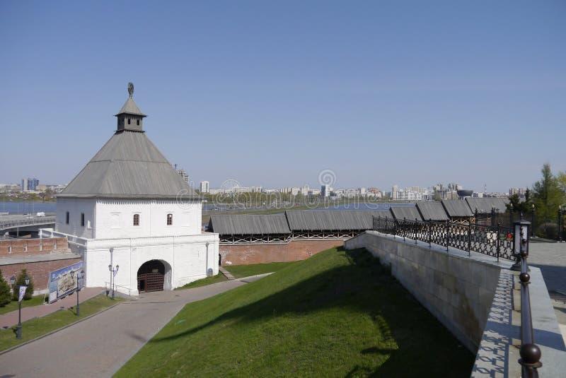 Taynitskaya torn royaltyfri bild