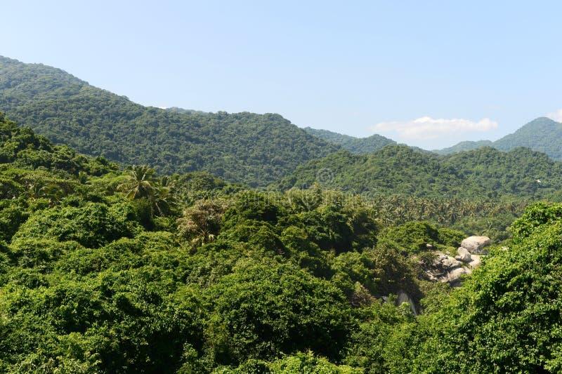 Tayrona, Κολομβία στοκ εικόνα με δικαίωμα ελεύθερης χρήσης