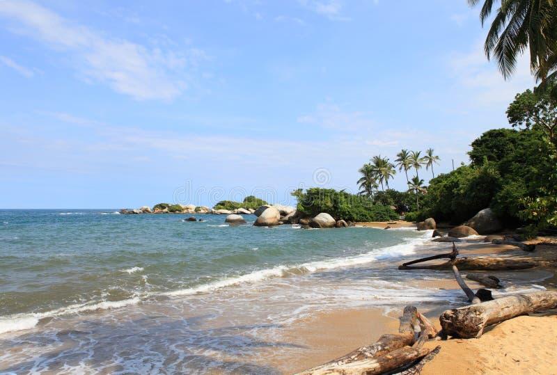 Download Tayrona Park Narodowy, Kolumbia Zdjęcie Stock - Obraz złożonej z idylliczny, ocean: 28951396