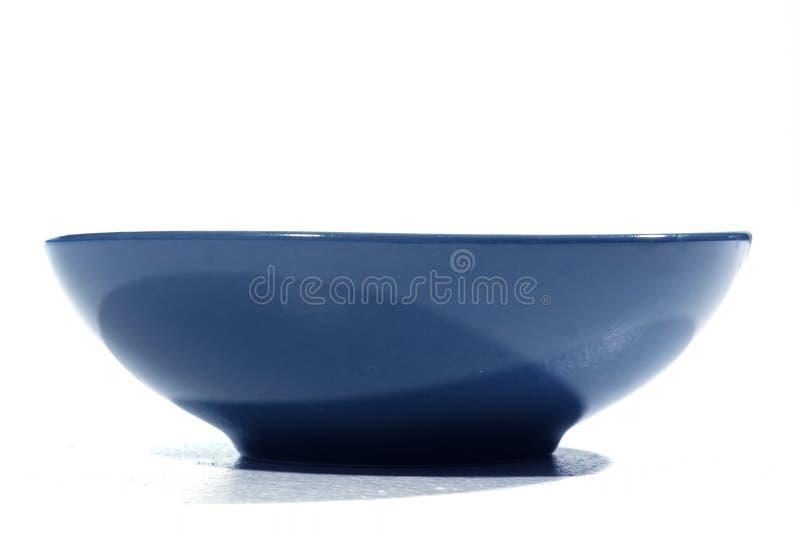 Tazón De Fuente Azul Imágenes de archivo libres de regalías