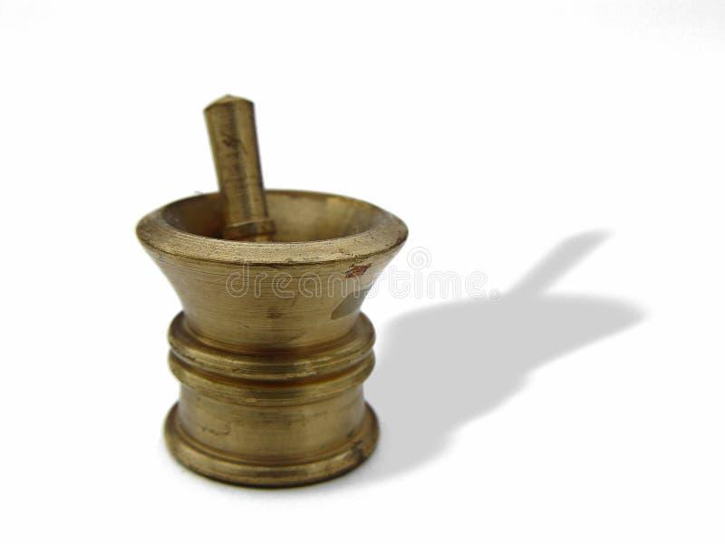 Tazón de fuente con el palillo imagen de archivo