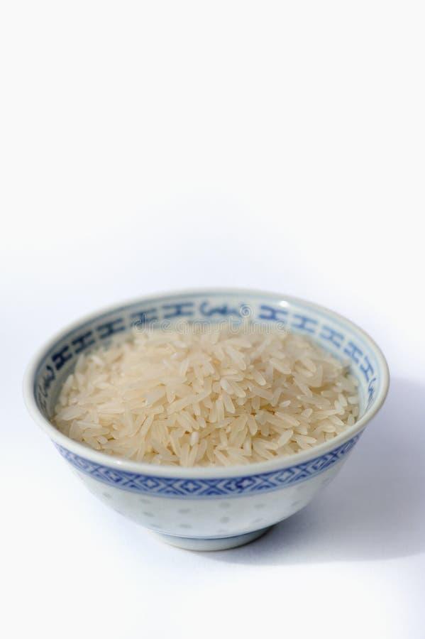 Tazón de fuente de arroz fotografía de archivo libre de regalías