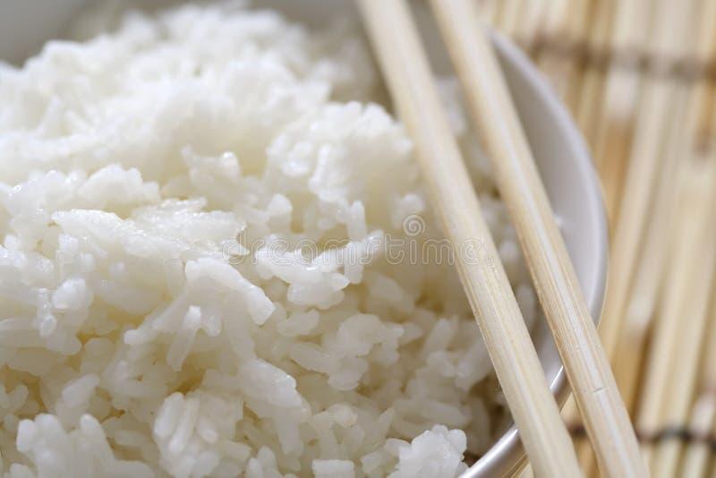 Tazón de fuente de arroz fotos de archivo libres de regalías