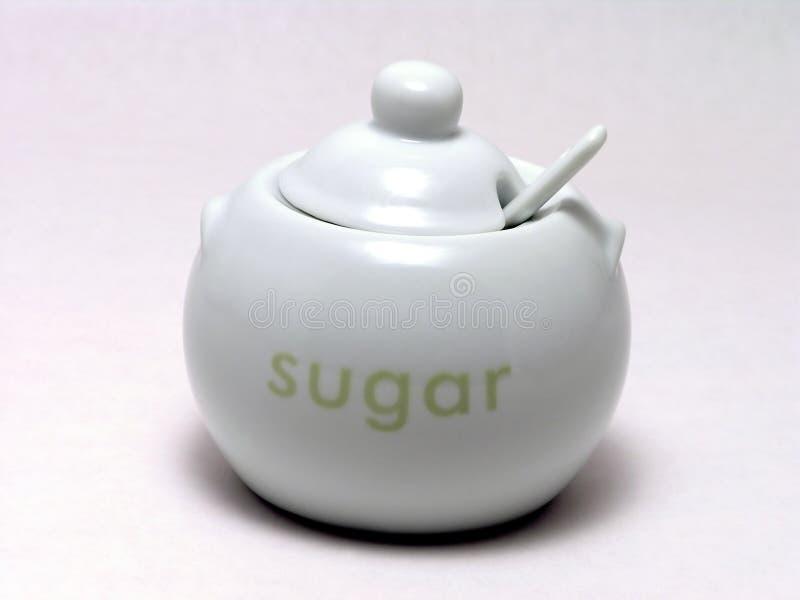 Tazón de fuente de azúcar 1 fotografía de archivo libre de regalías