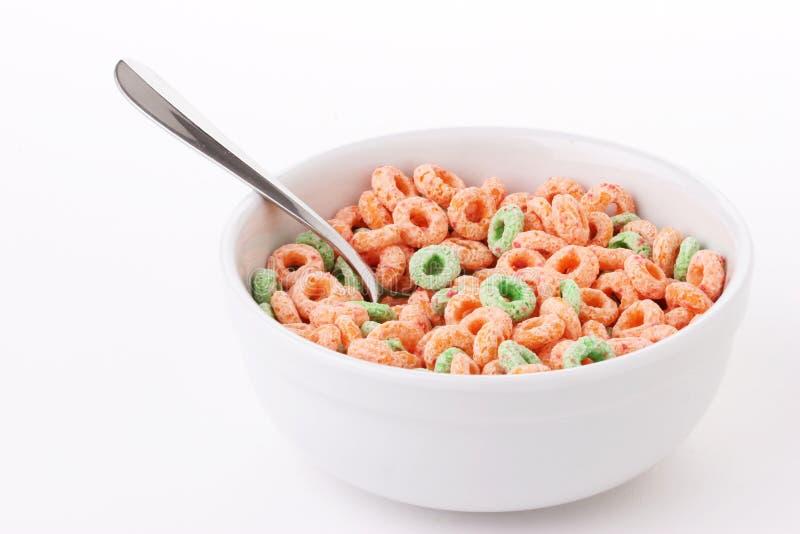 Tazón de fuente de cereal foto de archivo