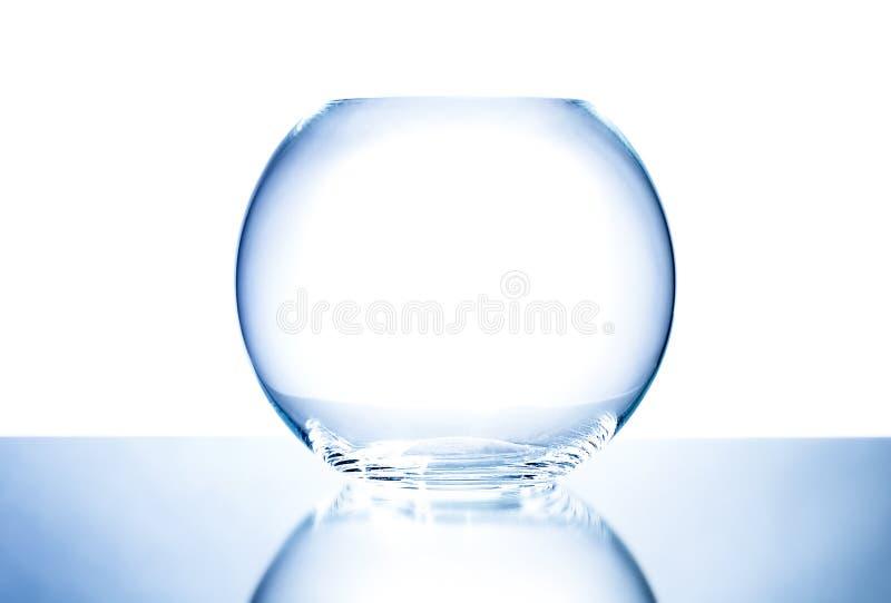 Tazón de fuente de cristal imagen de archivo