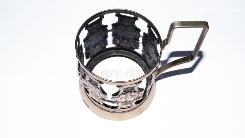 taza cupless del metal fotografía de archivo libre de regalías