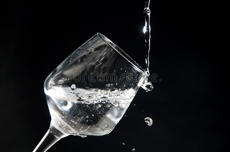 Taza de agua foto de archivo