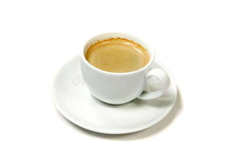 Taza de café aislada fotos de archivo libres de regalías